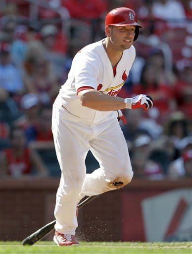 Holliday's HR, 5 RBIs send Cardinals past Royals
