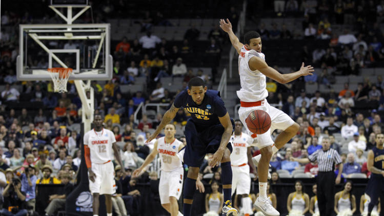 NCAA Basketball: NCAA Tournament-California vs Syracuse