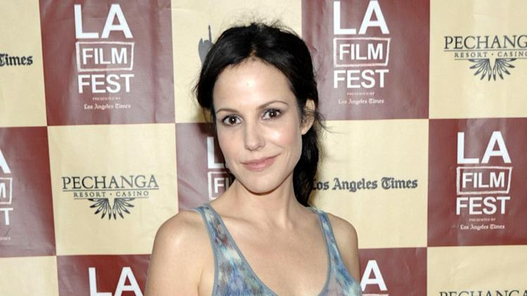 "FILE - This June 21, 2011 file photo shows actress Mary Louise Parker at the premiere of the feature film ""A Better Life"" in Los Angeles. Parker is coming back to Broadway in the world premiere of Sharr White's ""The Snow Geese."" The Manhattan Theatre Club and MCC Theater said Wednesday, April 10, 2013, that previews will begin Oct. 1 and the play will open Oct. 24 at the Samuel J. Friedman Theatre. Daniel Sullivan will direct. (AP Photo/Dan Steinberg, file)"