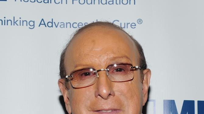 Clive Davis attends the Multiple Myeloma Research Foundation at the 15th Anniversary Fall Gala supporting cancer research on Saturday, Oct. 27, 2012 in Greenwich, Conn. (Photo by Evan Agostini/Invision for MMRF/AP Images)