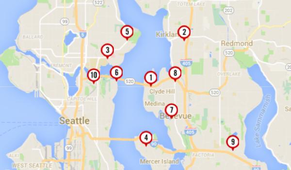 Let's See The Least Expensive Homes For Sale in Puget Sound's Most Expensive Neighborhoods