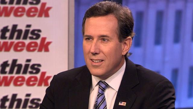 Rick Santorum: 'We Should Stick To Our Guns'