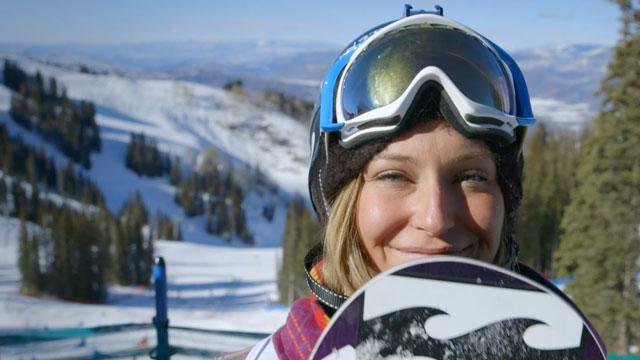 "How Slopestyle gold medalist Jamie Anderson's ""powers through"" her