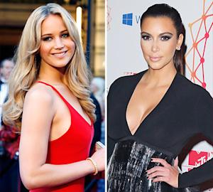 "Jennifer Lawrence Named ""Most Desirable Woman,"" Kim Kardashian Falls 90 Places"