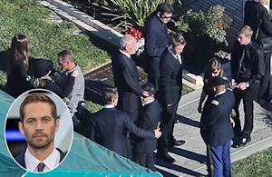 Paul Walker's Funeral: Tearful Guests Say Goodbye to the Late Actor