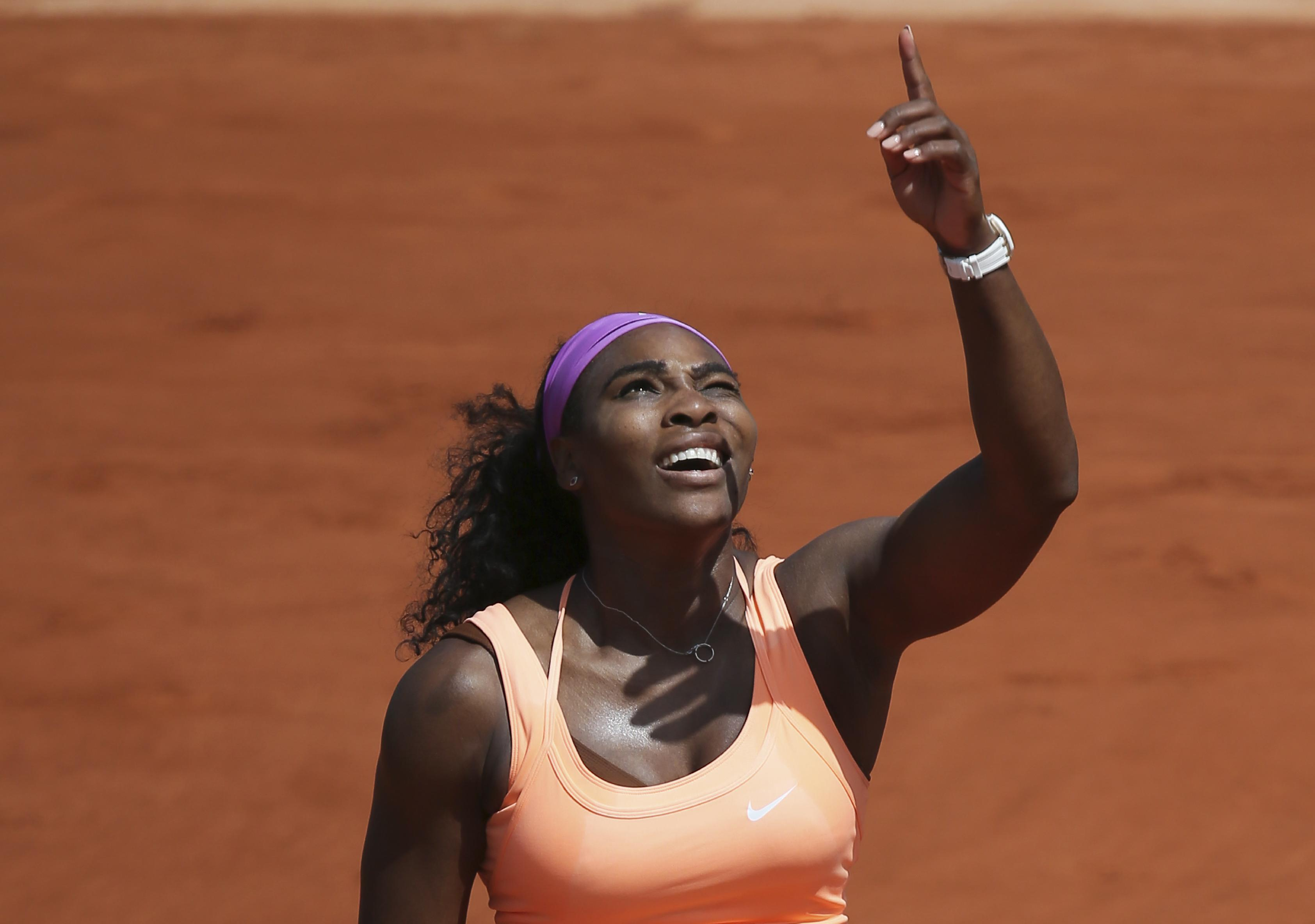 No comeback needed for Williams in French Open quarterfinals