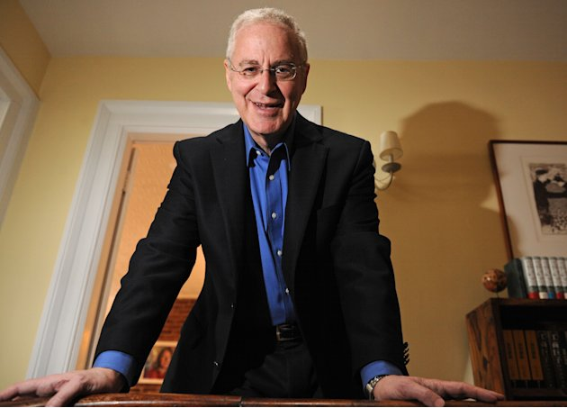 FILE - In this Monday, April 18, 2011, file photo, author Ron Chernow is photographed at his home in the Brooklyn borough of New York. Chernow, 64, received the BIO award from the Biographers Internat