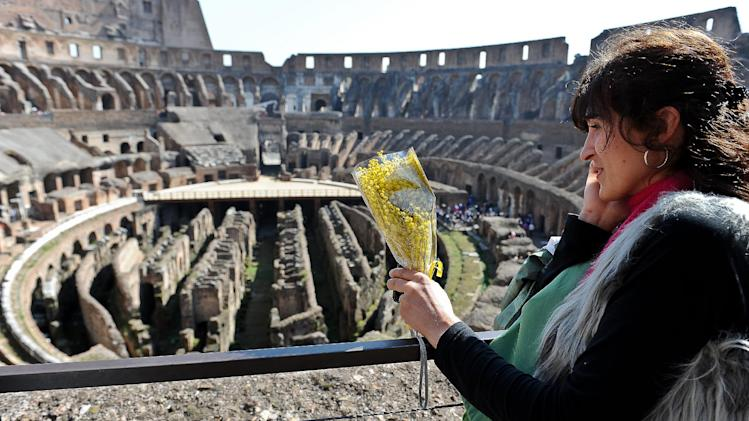 Rome's Colosseum reveals secret history of women
