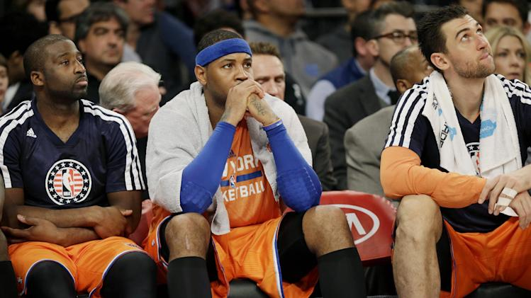 Struggling Knicks seek more effort and defense