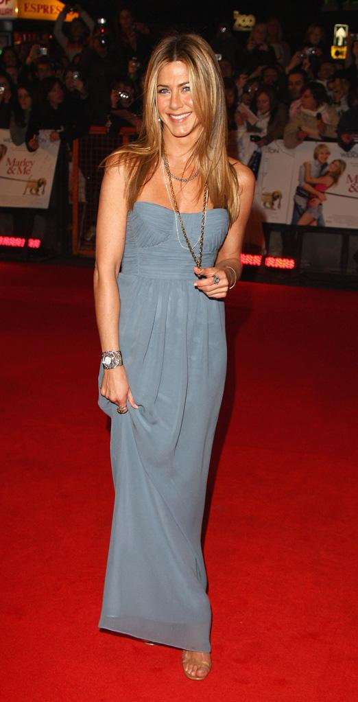 Jennifer Aniston Red Carpet Looks Gallery 2010