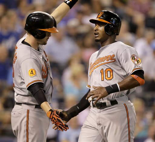 O's pound Royals 9-2 for 5th straight win