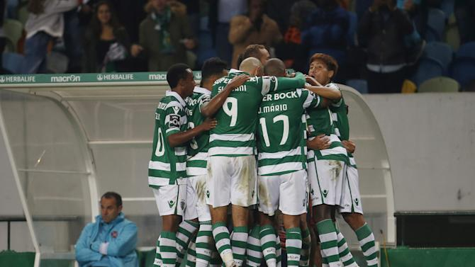 Football Soccer - Sporting v Belenenses - Portuguese Premier League