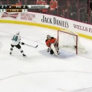 Melker Karlsson Goal on Steve Mason (00:00/SO)