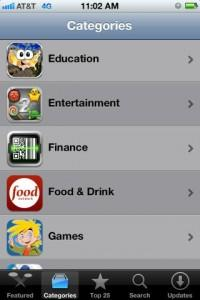 Hungry? Apple Adds 'Food and Drink' Section to App Store