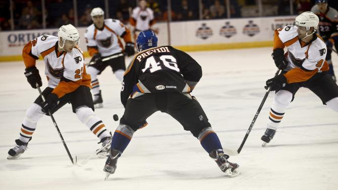 Adirondack Phantoms v Bridgeport Sound Tigers