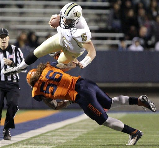 Bortles, Murray lead UCF over UTEP 31-24