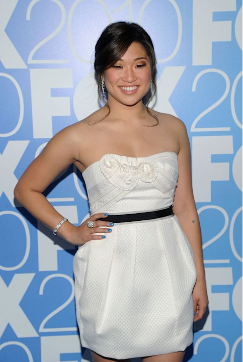 "Jenna Ushkowitz (""Glee"") attends the 2010 Fox Upfront after party at Wollman Rink, Central Park on May 17, 2010 in New York City."