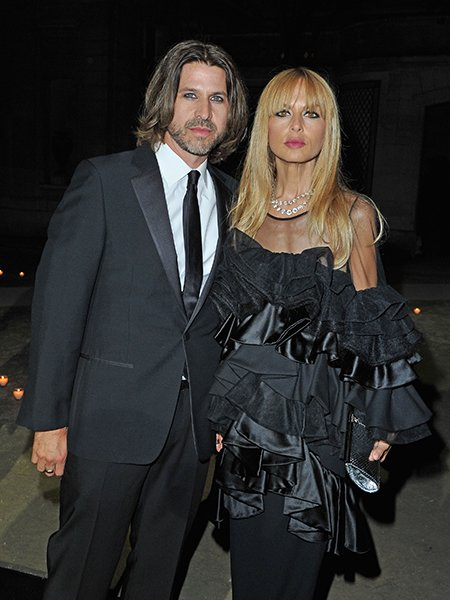 Rodger Berman with Wife Rachel Zoe in Paris, 2012