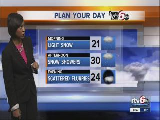 More snow expected as cool temps hang around
