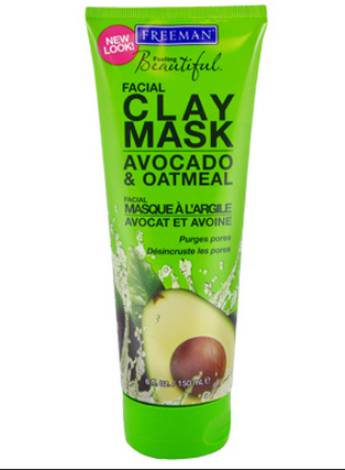 Freeman Avocado and Oatmeal Clay Face Mask