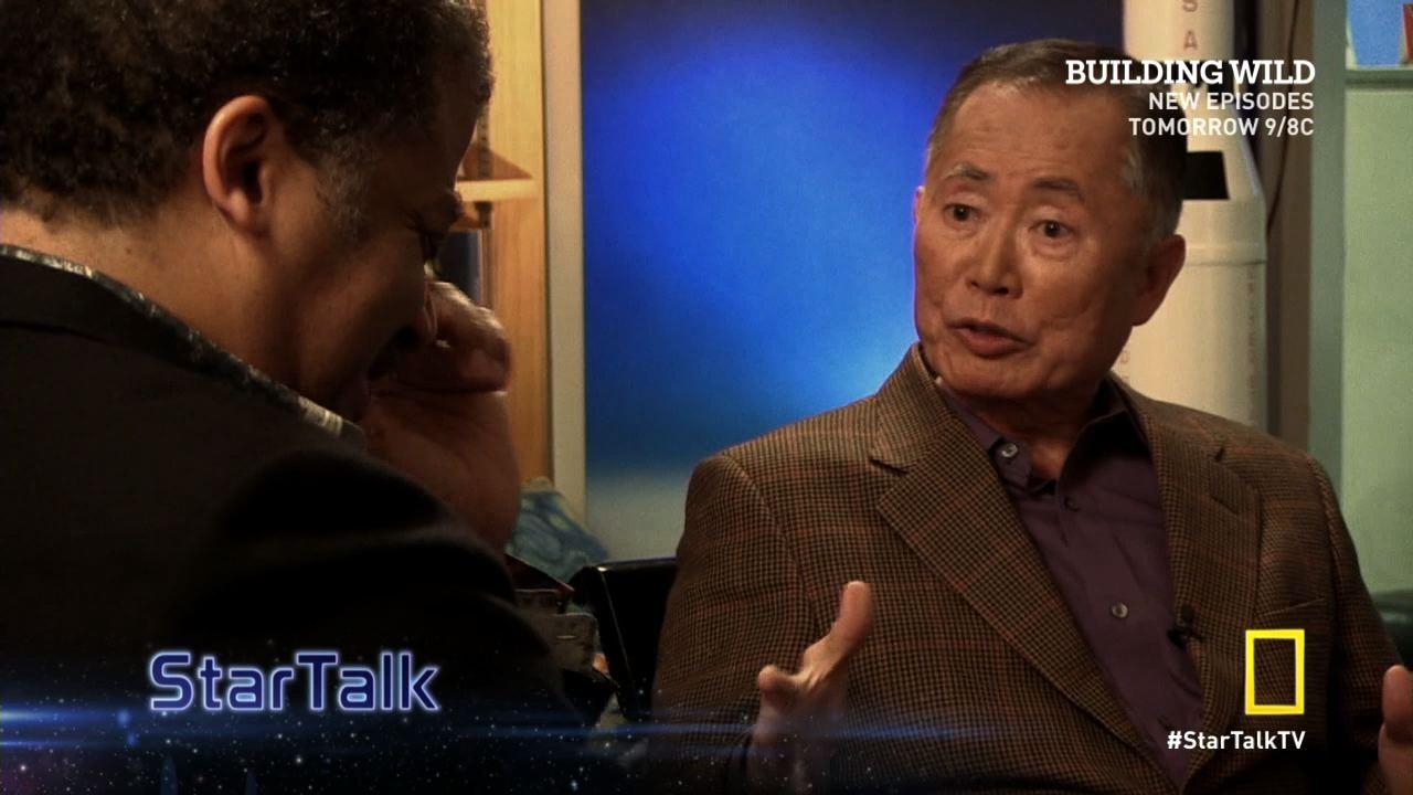 George Takei Talks to Neil deGrasse Tyson About Living On Skid Row