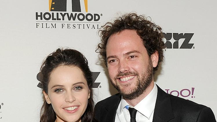 15th Annual Hollywood Film Awards Felicity Jones Drake Doremus