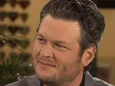 Blake Shelton: 'Gosh Dang! It's Usher… and Shakira'