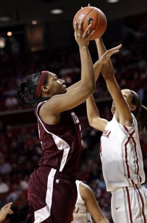 Oklahoma wins 64-55, ends 6-game skid to Texas A&M