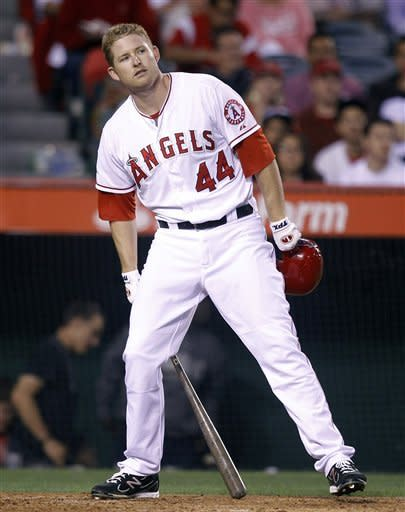 Masterful Cahill leads D'backs past Angels 5-0