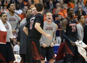 No. 10 Louisville beats No. 12 Syracuse 58-53