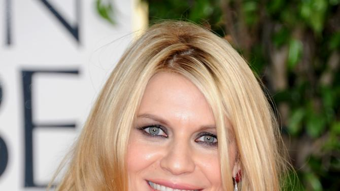 Actress Claire Danes arrives at the 70th Annual Golden Globe Awards at the Beverly Hilton Hotel on Sunday Jan. 13, 2013, in Beverly Hills, Calif. (Photo by Jordan Strauss/Invision/AP)
