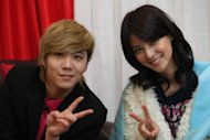 F.T. Island Lee Hong Ki and Fuji Mina