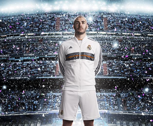 Ronaldo sidelined as Real Madrid show off new kit