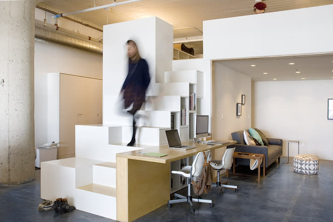 Curbed National: Clever Ikea Hacks Create Lovely Live-Work Loft for Just $75K