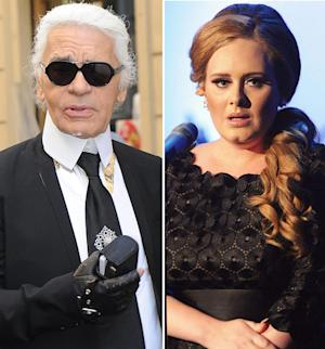 "Karl Lagerfeld: Adele Is ""Too Fat"""