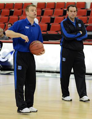 NCAA Basketball: NCAA Tournament-Duke Practice