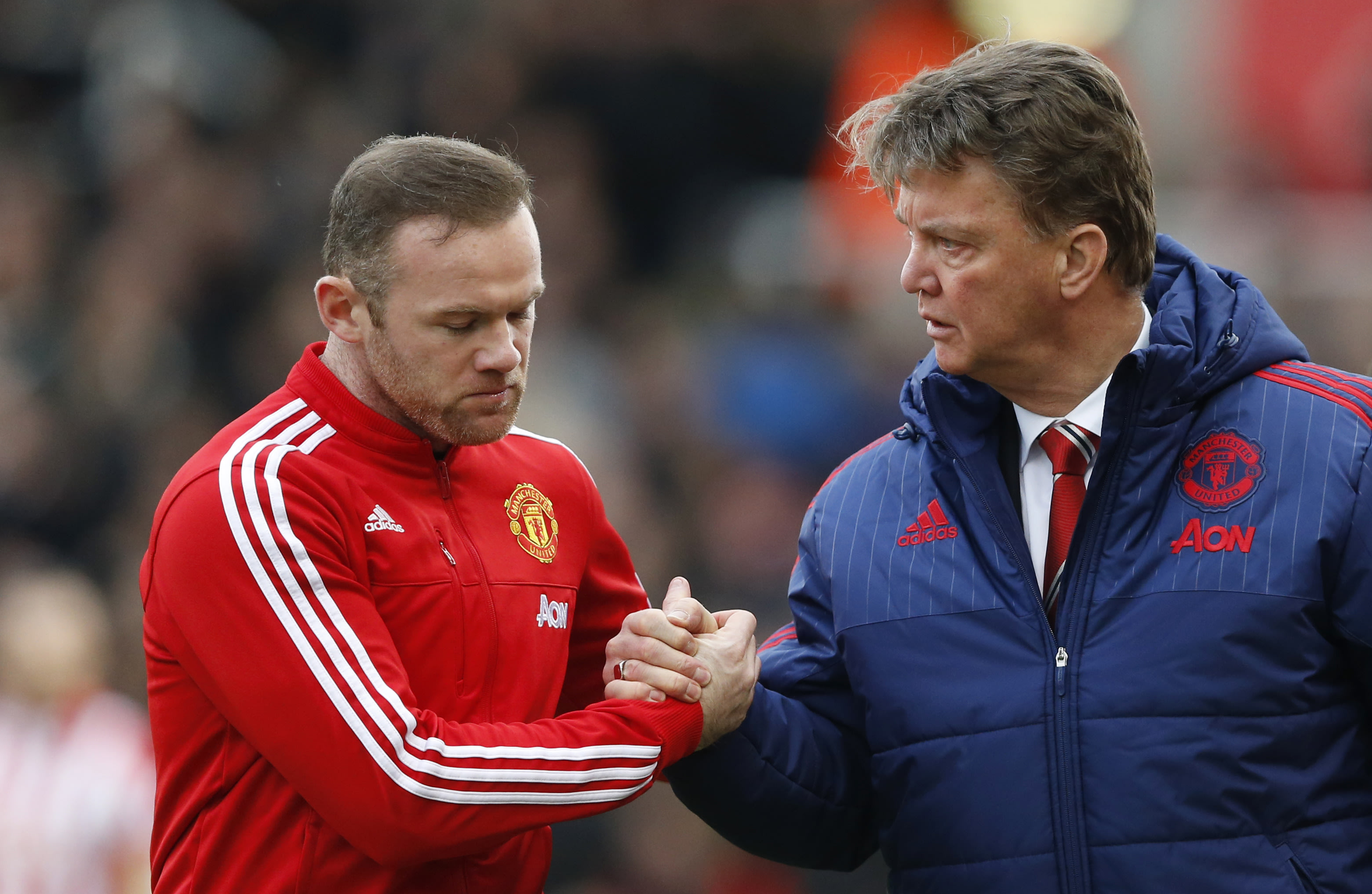 Wayne Rooney's leadership can help Louis van Gaal. (Reuters)