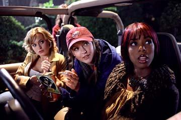 Monica Keena , Katharine Isabelle and Kelly Rowland in New Line's Freddy Vs. Jason