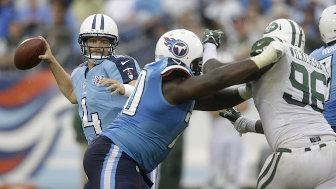 Backup QB turned starter takes over for Titans