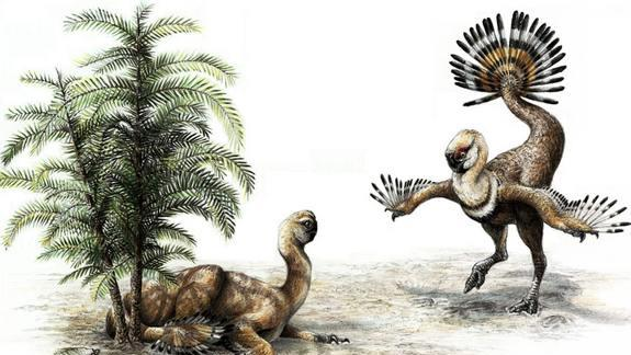 Shake It! Dinosaurs Waggled Flashy Tails to Woo Mates