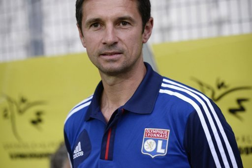 Lyon coach Remi Garde