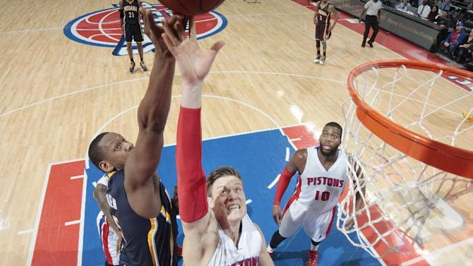 Monroe, Drummond lead Pistons over Pacers, 119-109