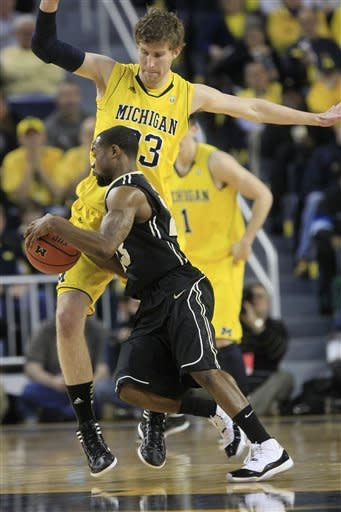 Purdue hands No. 11 Michigan first home loss