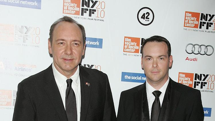 The Social Network NY Premiere 2010 Kevin Spacey Dana Brunetti