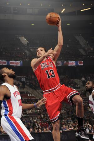 Noah's big night leads Bulls over Pistons 108-104