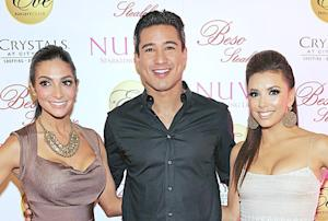 Eva Longoria Congratulates Newlyweds Mario Lopez and Courtney Mazza!
