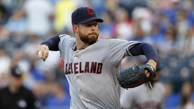 Indians' Kluber is perfect through 6 innings