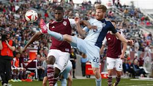 Colorado Rapids admit misfiring first half cost them share of points in loss vs. Sporting Kansas City