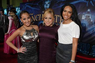 The Cheetah Girls at the Los Angeles premiere of Walt Disney Pictures' Enchanted