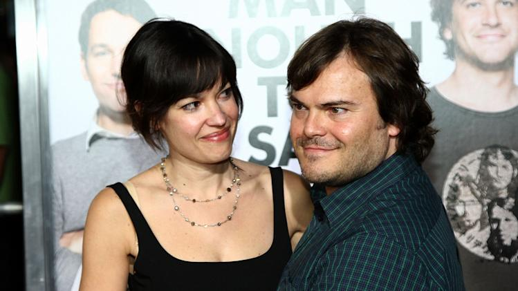I Love You Man LA Premiere 2009 Jack Black Tanya Haden